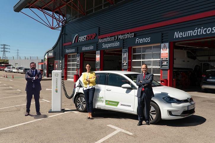 Iberdrola & First Stop Recharging Network in Spain & Portugal