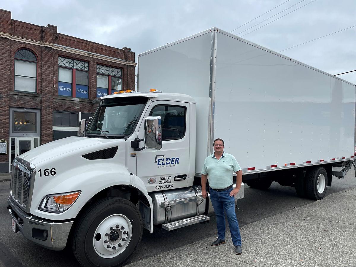 Peterbilt Delivers Medium Duty Model 536 to Elder Logistics