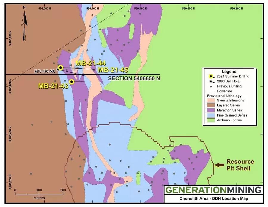 Generation Mining Discovers Mineralization Near Marathon Deposit