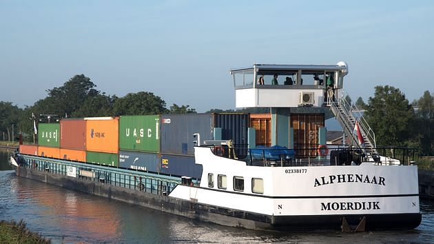 Emission Free Inland Shipping Vessel Alphenaar Commissioned