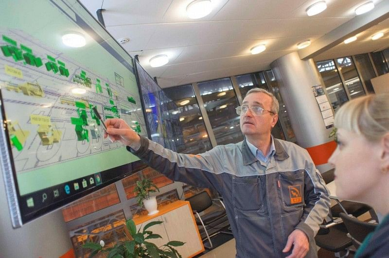 TMK Pilots SAP Based Production & Sales Planning System