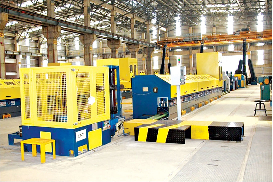 BSRM Installs Prestressed Steel Strands Plant in Bangladesh
