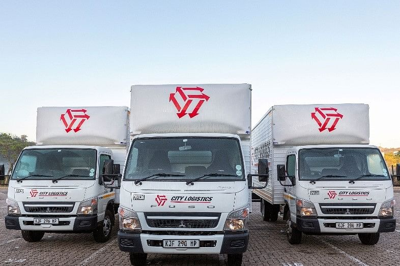 43 Fuso Canters Delivered to City Logistics in South Africa