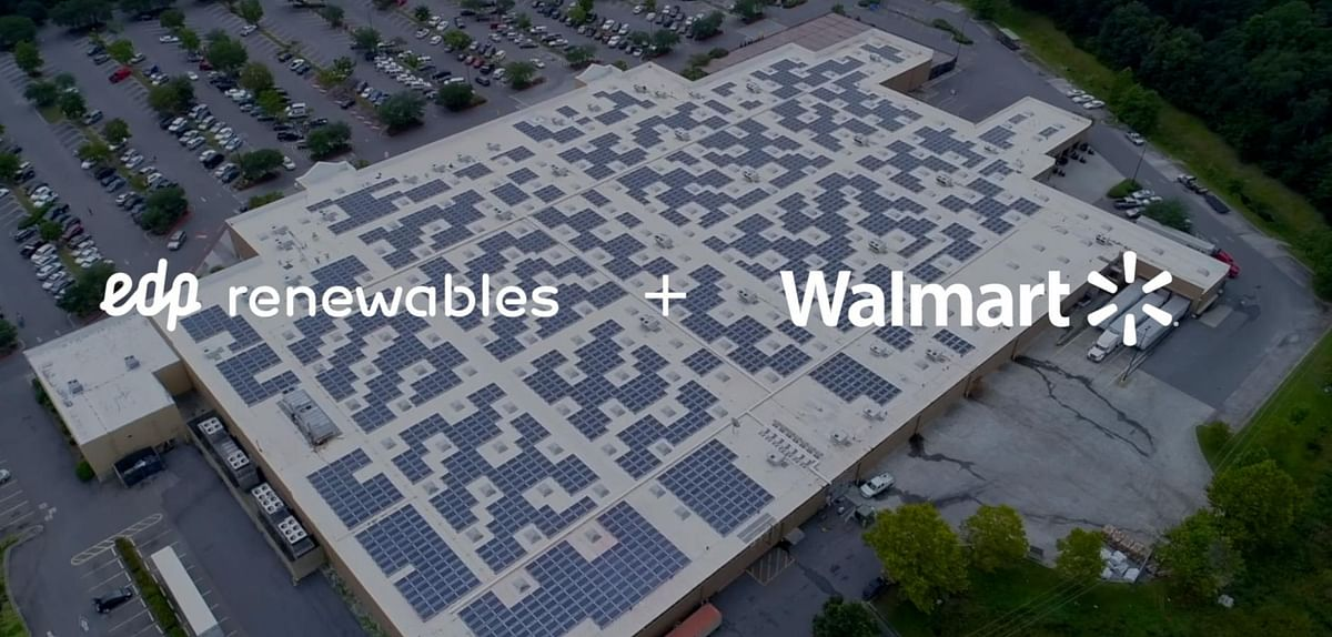 EDPR Signs 51 Solar Energy Projects with Walmart