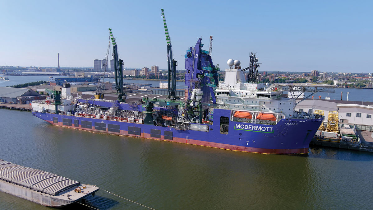 McDermott Amazon for Deepwater Development in Gulf of Mexico