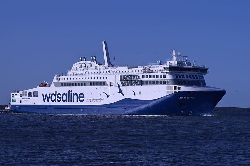 Wärtsilä to Maintain Wasaline's Aurora Botnia Ferry