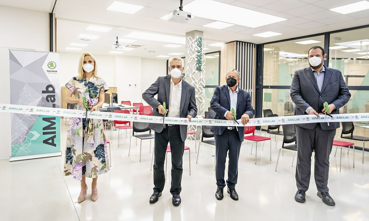 ŠKODA AUTO Opens AIM.Lab in VŠB-TUO Campus in Ostrava