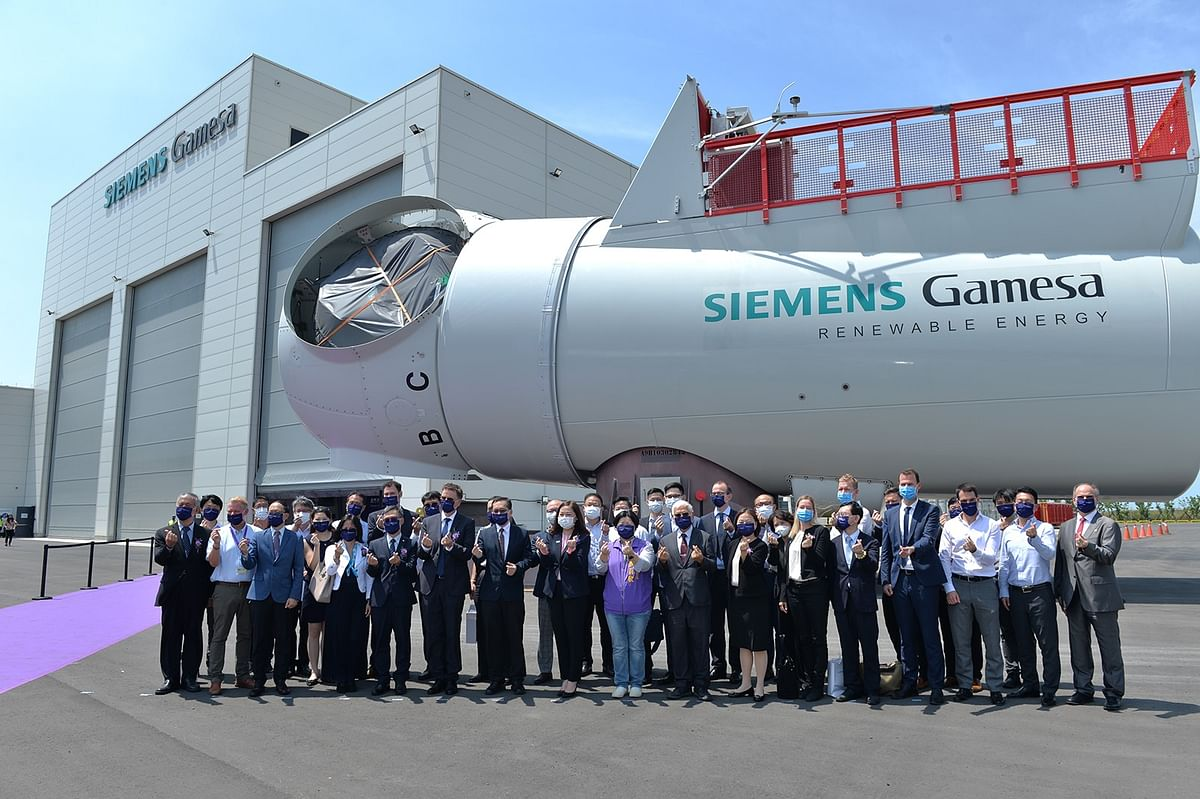 Siemens Gamesa Opens Nacelle Assembly Facility in Taiwan