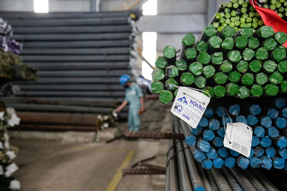 Fourth COVID Wave Hits Hoa Phat's Construction Steel Sales  August
