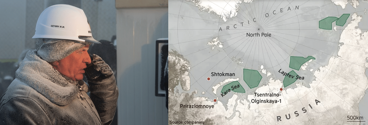 Rosneft Begins Unique Geological Research on Eastern Arctic Shelf