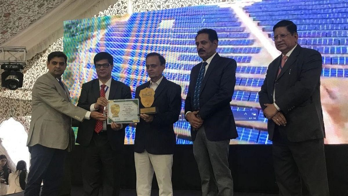 Tata Steel's OMQ DivisionBags Greentech Energy Conservation Award