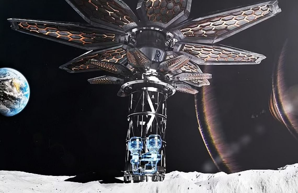 Rolls-Royce Working on Nuclear Reactor for Space Mining