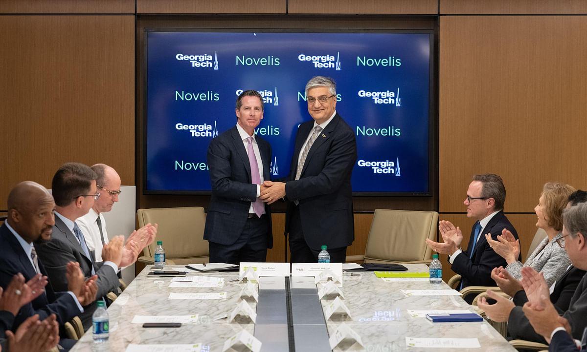 Novelis Expands Research Partnership with Georgia Tech