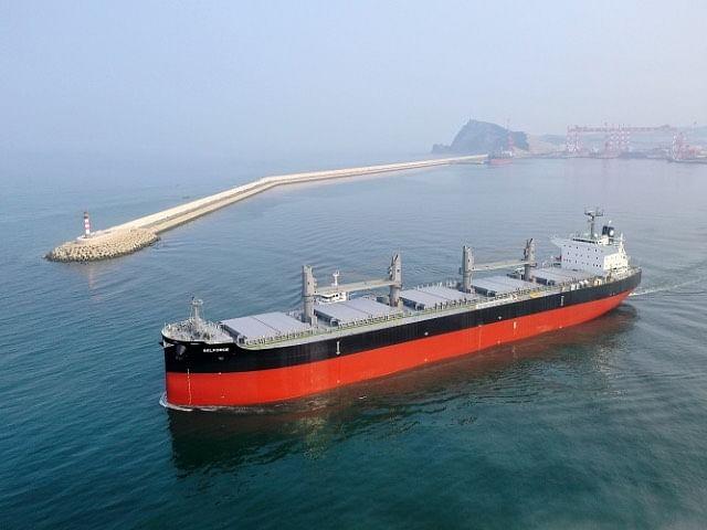 Kawasaki Heavy Industries Delivers Bulk Carrier BELFORCE