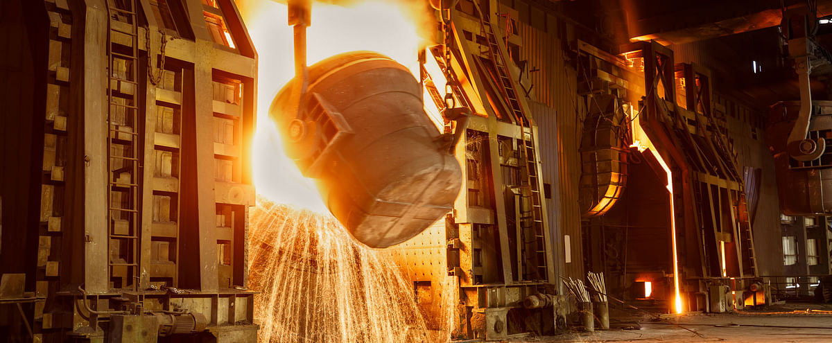 US Steel Production Capacity Utilization Recovers in Week 36