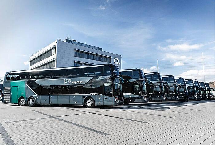 Setra Enhances Norwegian Express Routes