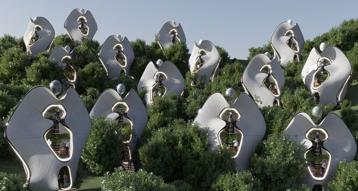 MASK Architects Design Modular Prefabricated Living Museum Houses