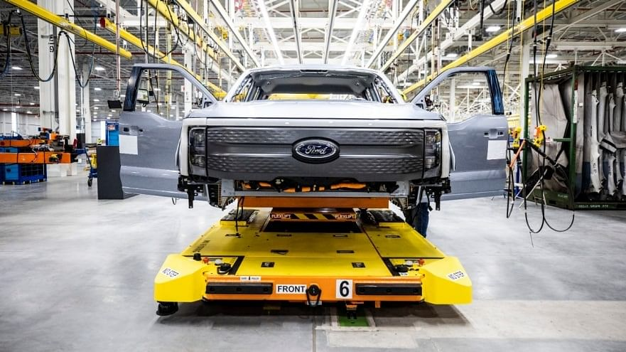 Ford Begins Pre Production of F-150 Lightning Truck in Michigan