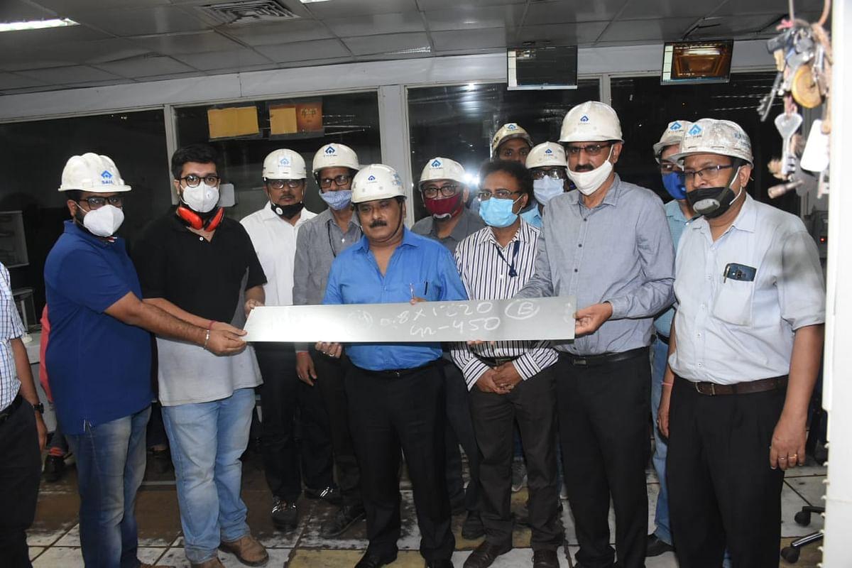 SAIL BSL Develops Galvanized Steel for Grain Silos