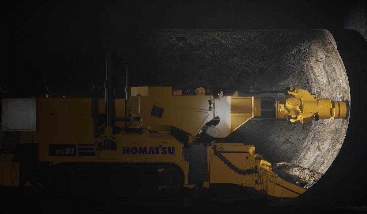 Vale Trials Komatsu's DynaCut at Garson Mine