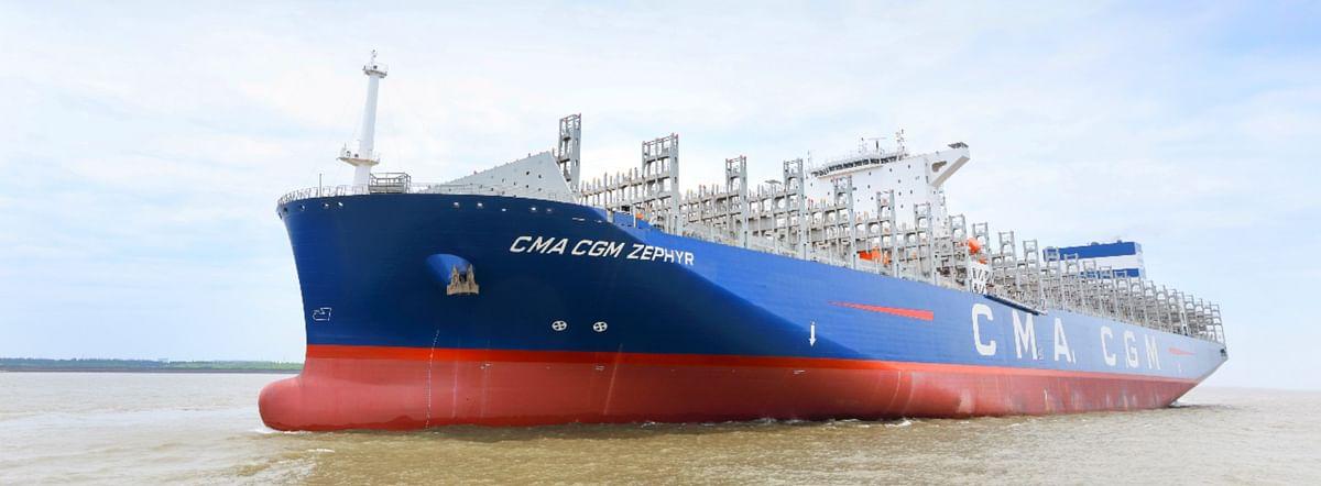 CMA CGM ZEPHYR Joins CMA CGM Group Fleet