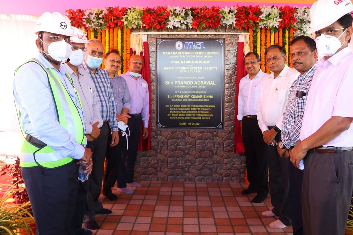 CIL MCL Lays Foundation Stone for First Mile Connectivity Project