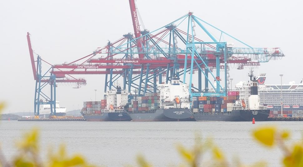 Despite Global Disruptions Port of Gothenburg Freight Flows Rise