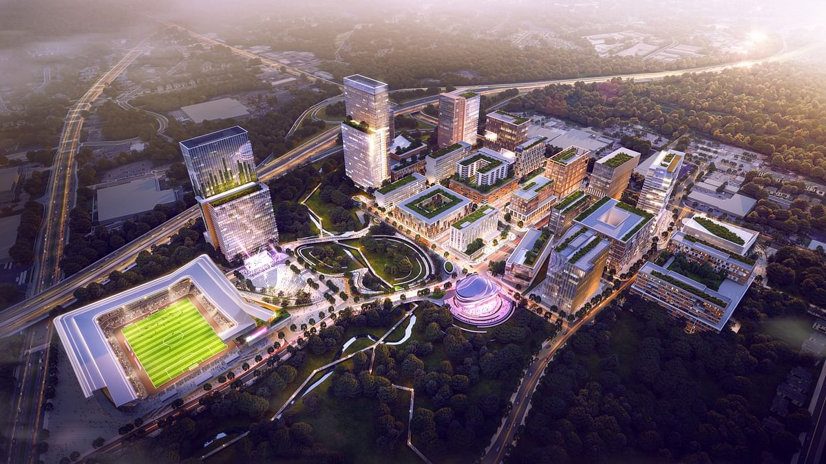 10 Design Reveals Scheme for Downtown South Masterplan in Raleigh
