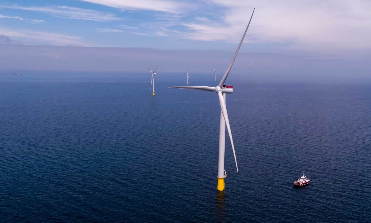 Scandinavia's Largest Offshore Wind Farm Kriegers Flak Inaugurated