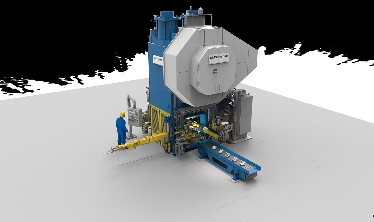 SMS Closed Die Forging Press for Hirschvogel Automotive Components