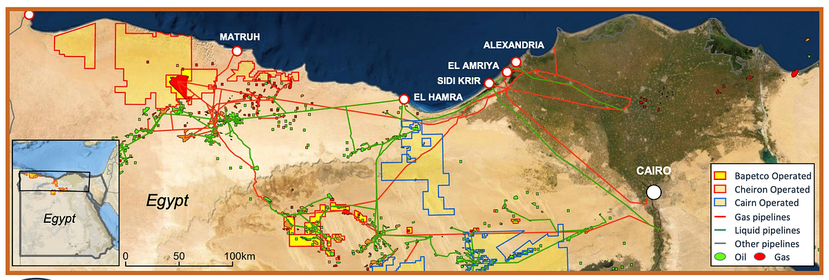 Shell Sells Western Desert Assets inEgypt to Cheiron &Cairn Energy