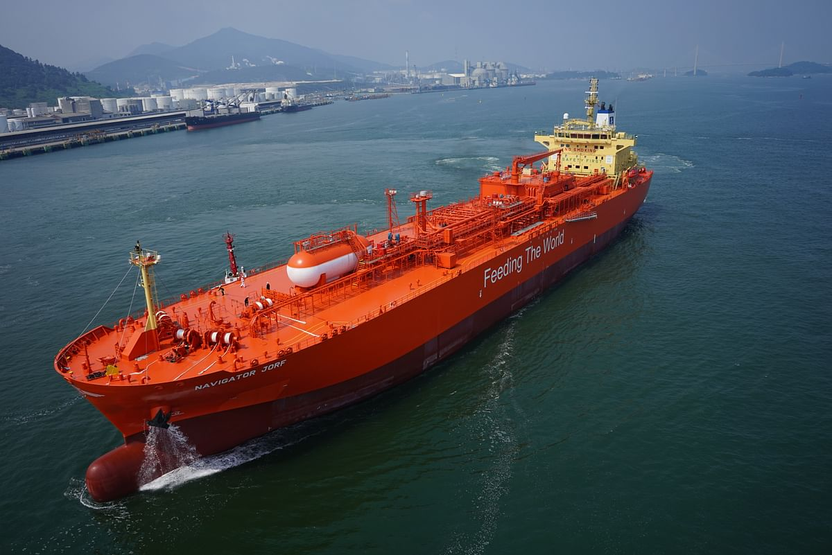Navigator Gas Awarded DNV AiP for Ammonia Fuelled Gas Carrier