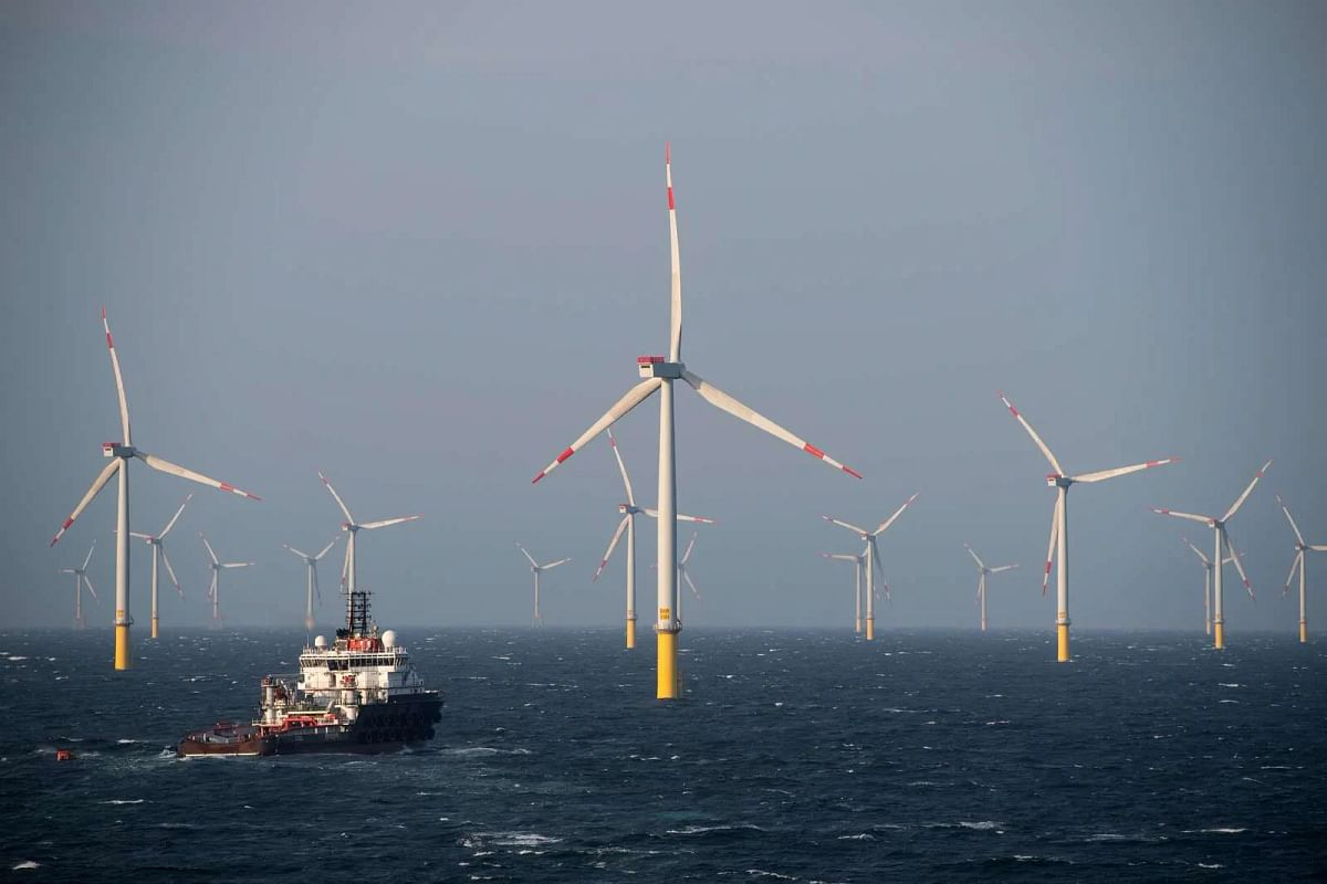 Orsted Signs Monopile Foundation Contracts for Offshore Projects