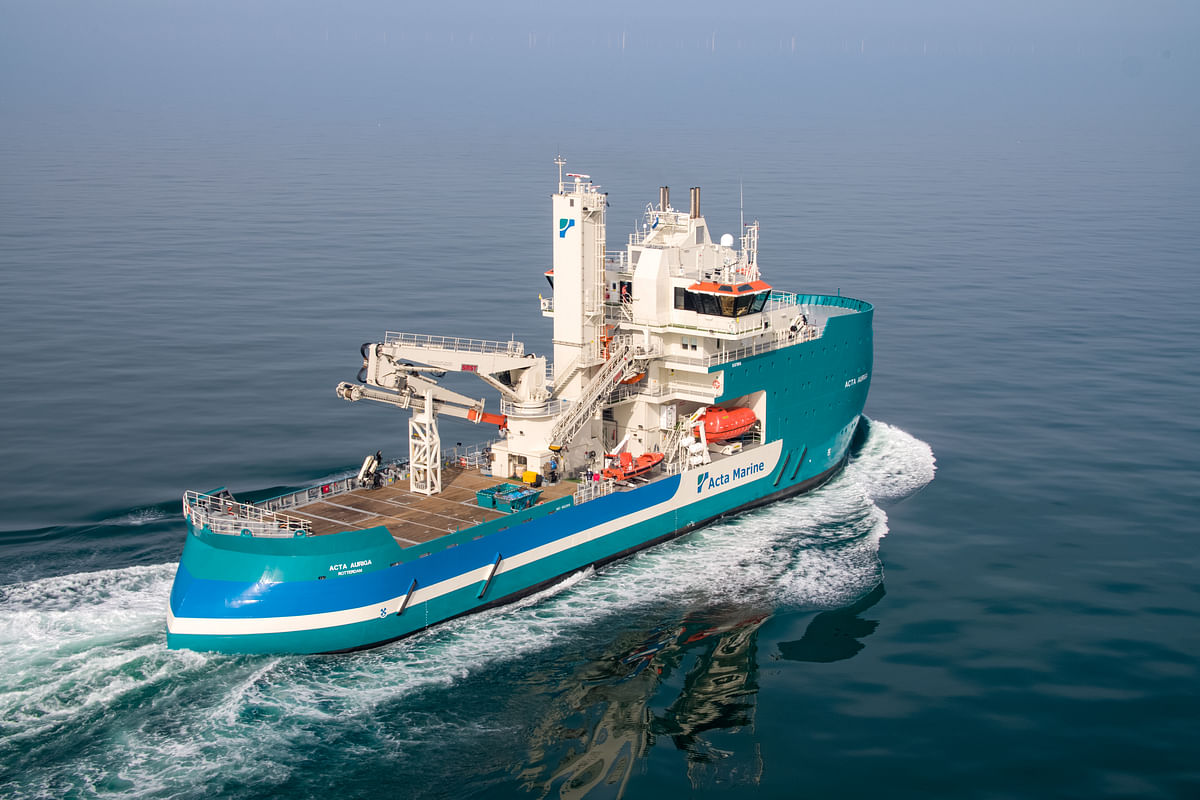 GE Renewable & ACTA MARINE Sign Pact for Vessel ACTA AURIGA