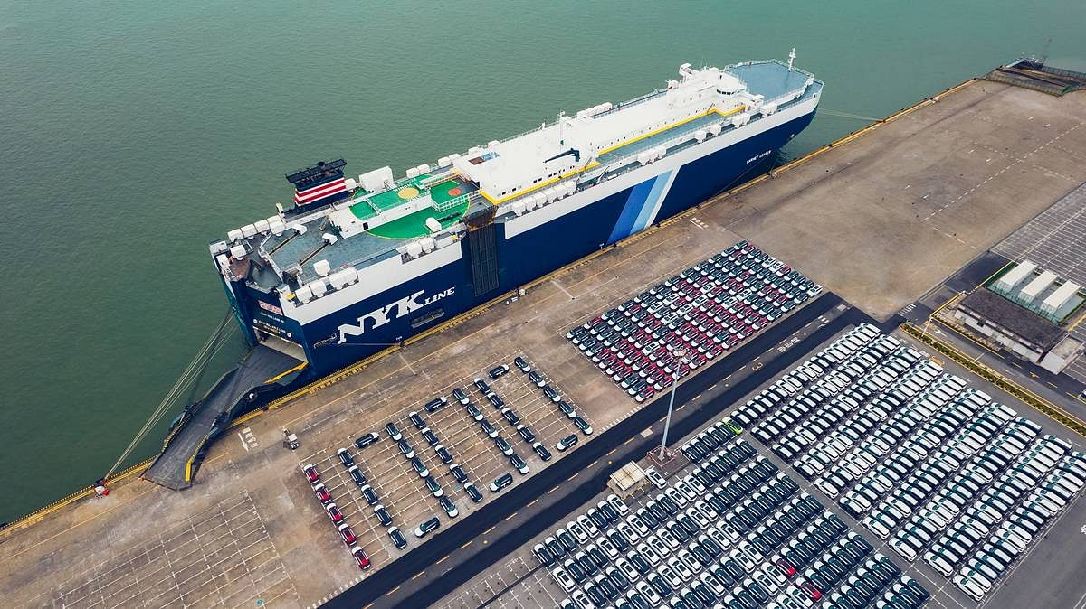 1000th BYD Tang SUV Sets Sail for Norway