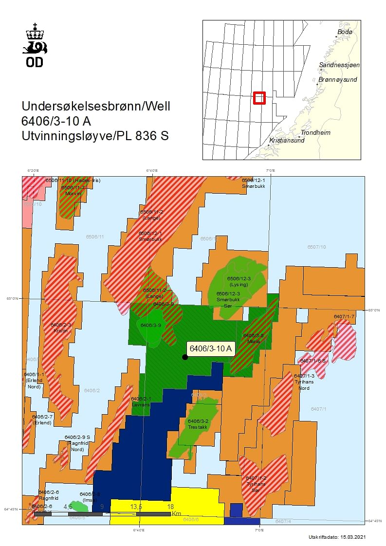 Wintershall Dea Concludes Drilling at Bergknapp Oil Discovery