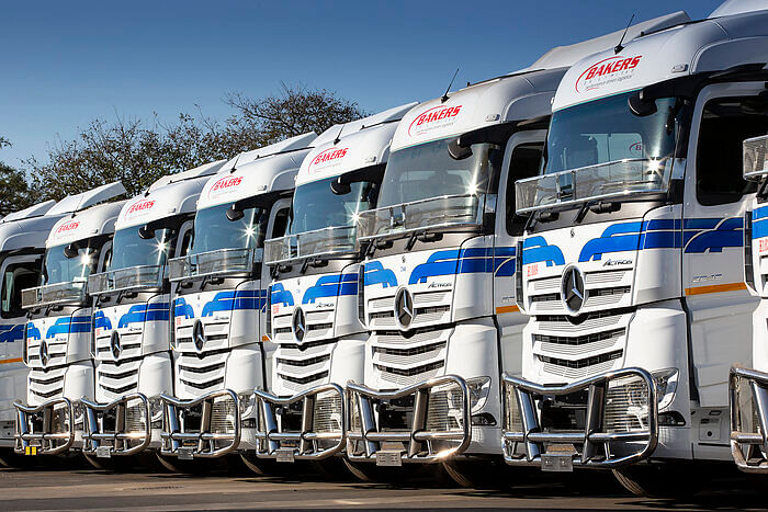 90 Mercedes-Benz Actros Trucks Delivered to Bakers SA