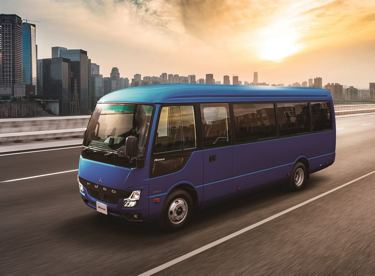 Mitsubishi Fuso Launches Updated Light Duty Rosa Bus