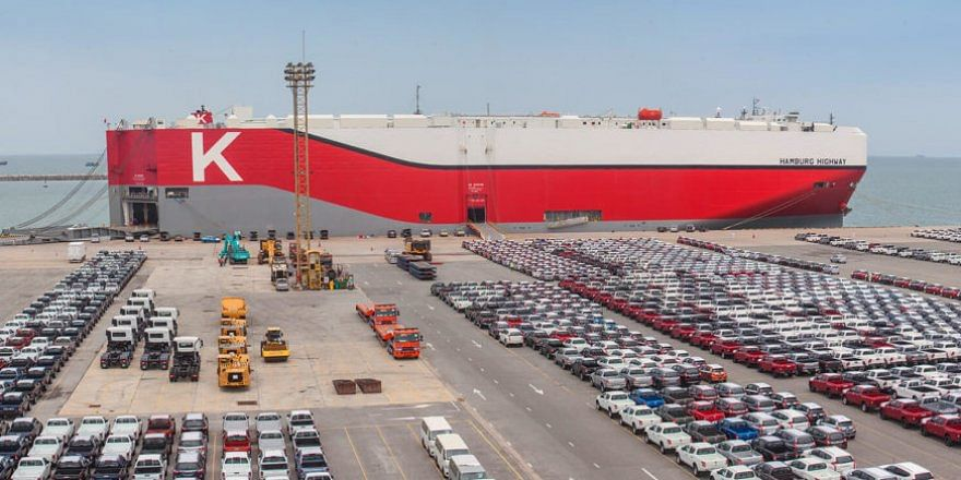 K LINE to Procure 8 Environmentally Friendly Car Carriers