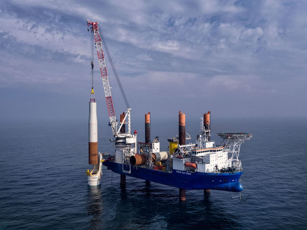 Dillinger Supplying Monopiles for Orstead's Offshore Wind Projects