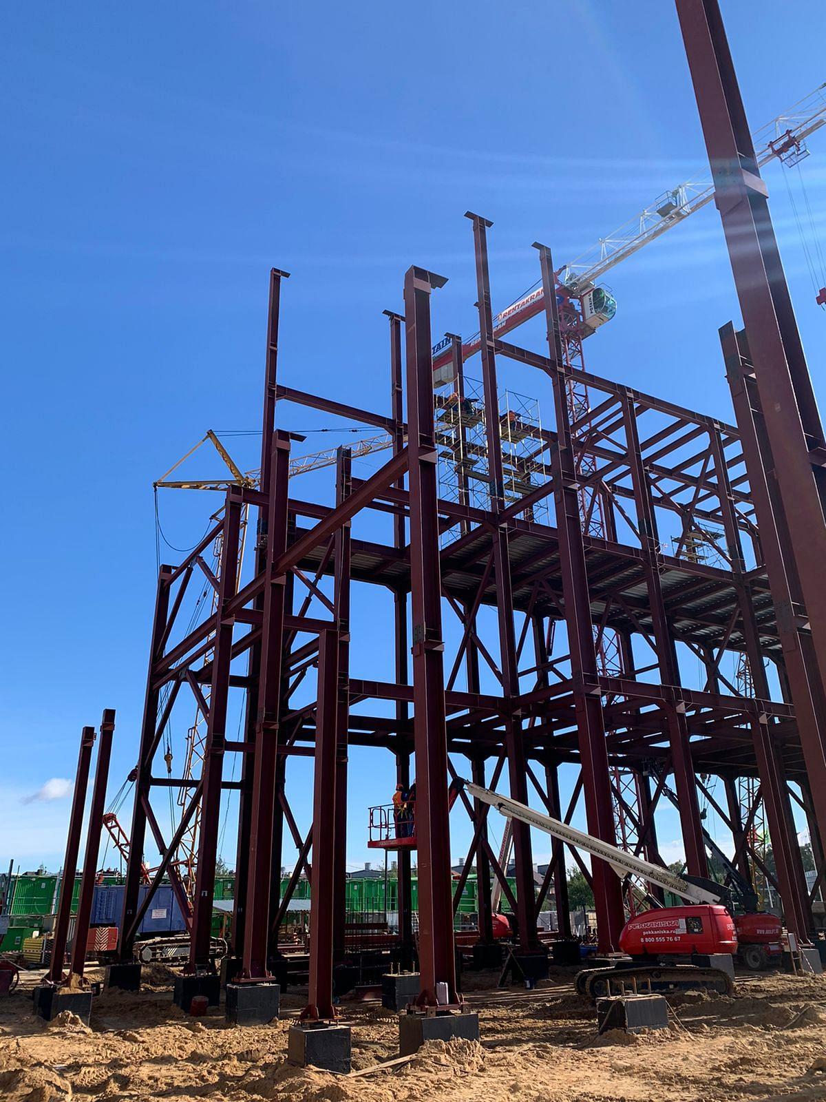 Mechel Supplies Beams for Construction of Sberbank Data Center