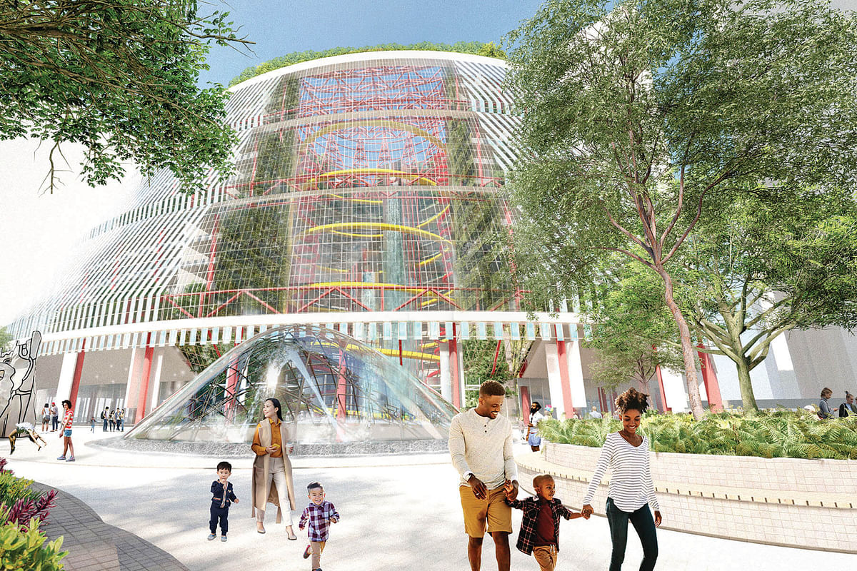 Public Pool a Winning Design for Reimagining the Thompson Center