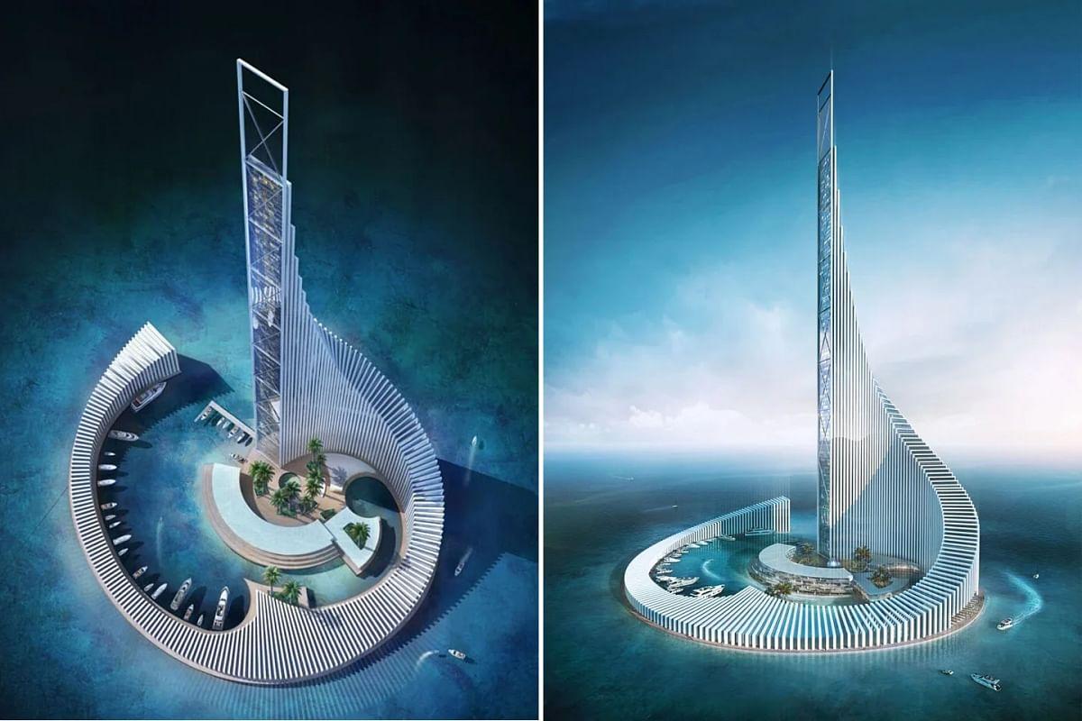 Zanzibar Plans Domino Tower