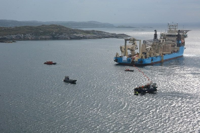SSEN Project to Replace Skye to Harris Subsea Cable Complete