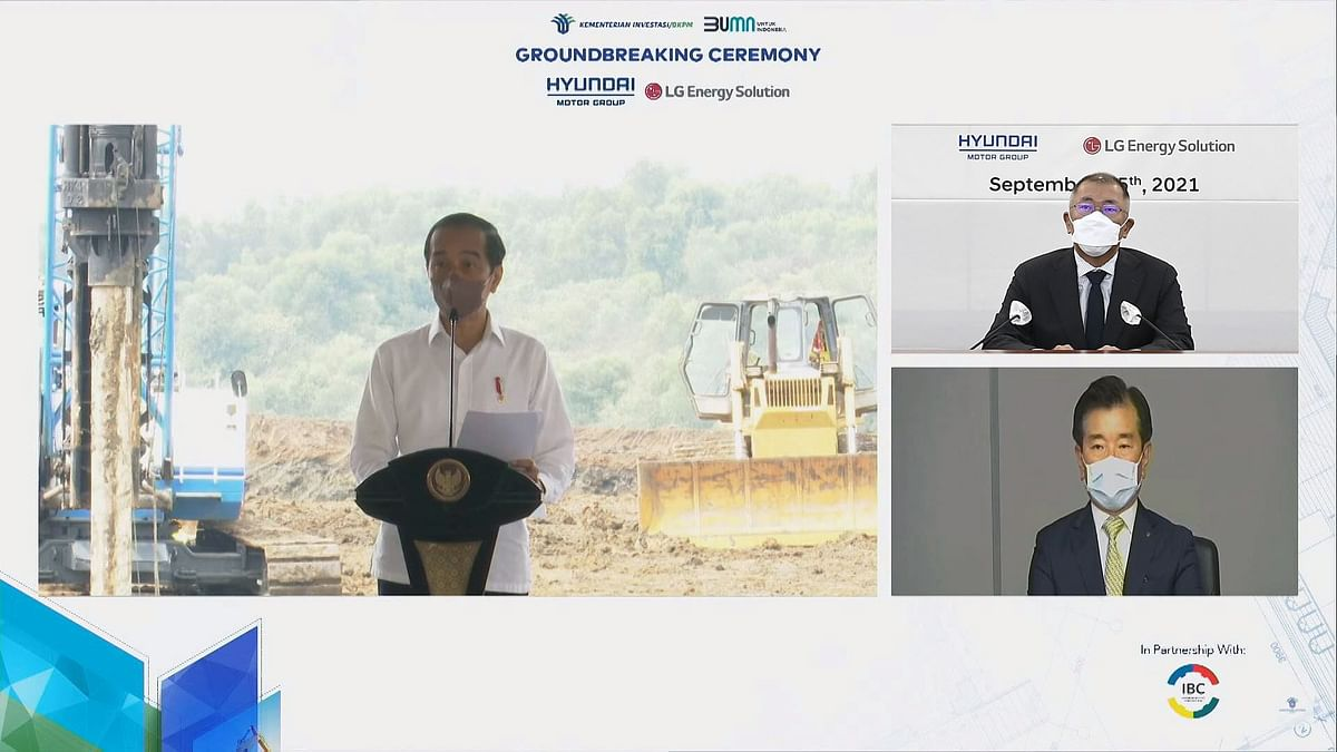Hyundai & LG Start Construction of Battery Cell Plant in Indonesia