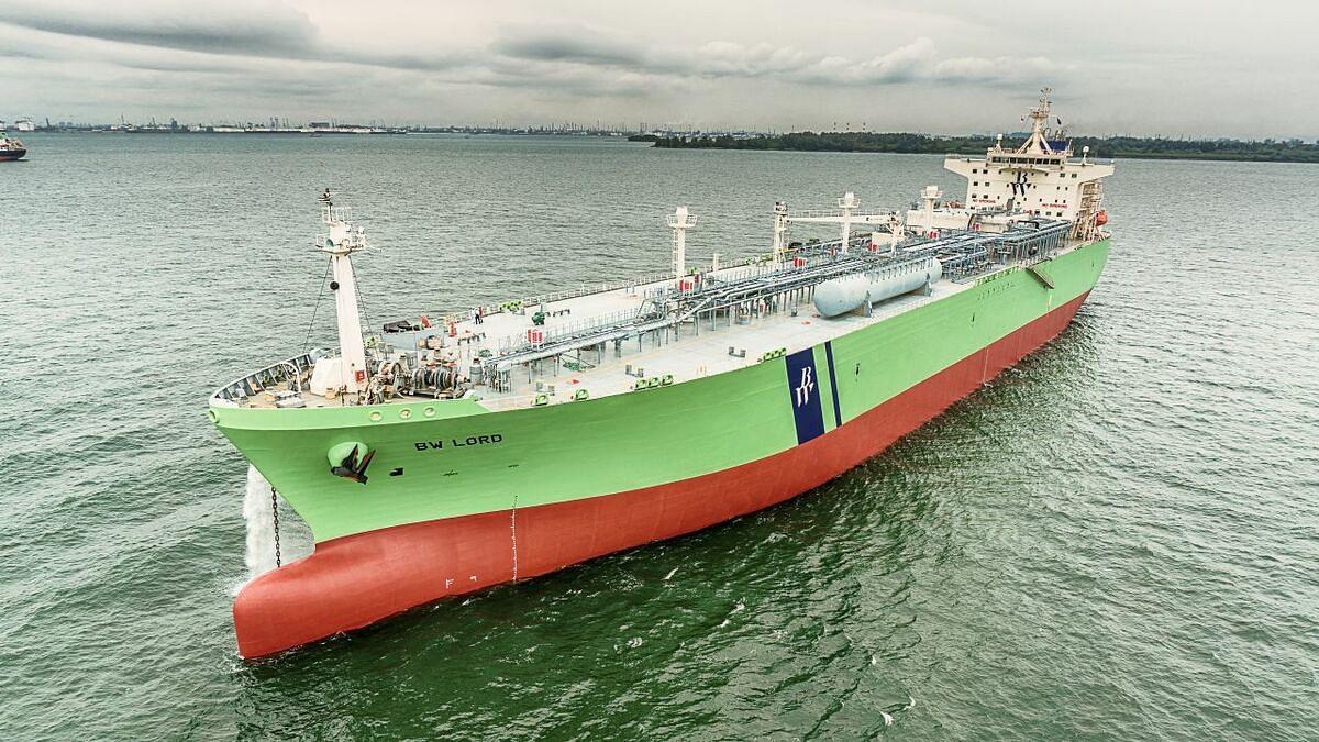 Kline Time Charters LPG Fueled VLGC for LPG/Ammonia Transport