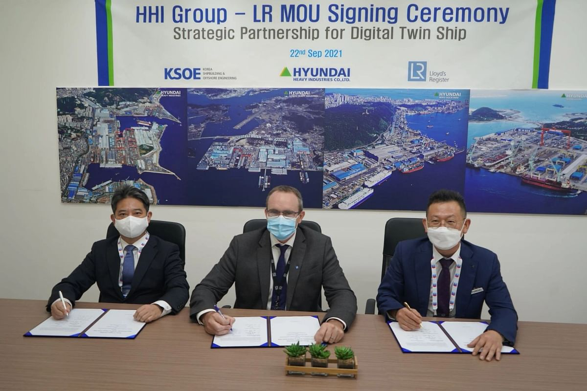 LR, HHI & KSOE to Develop Digital Twin Technology for LNG Carrier