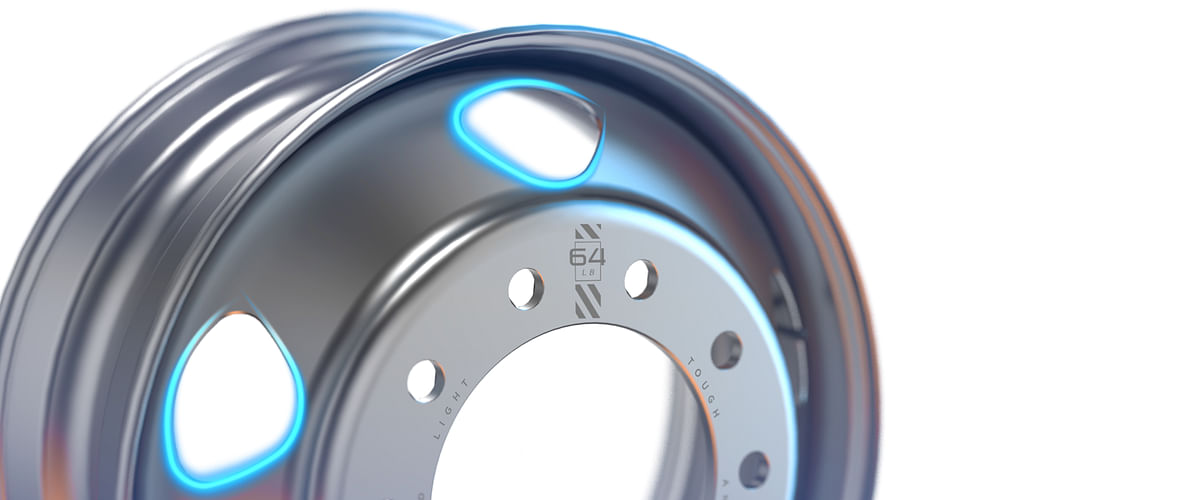 Maxion Wheels Launches Light Fuel Efficient Steel Truck Wheel