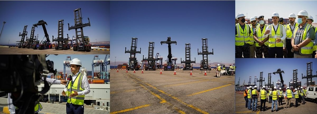 APM's Aqaba Container Terminal Invests in Terminal Equipments