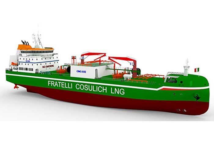 Wärtsilä to Supply Cargo Handling System for Italian LNG Vessel